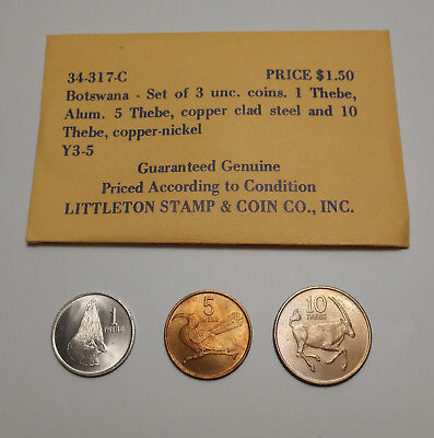 Coin Botswana: Stamp & Coin Co