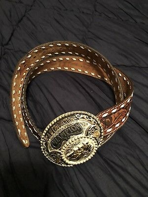 montana silversmith buckle and Belt