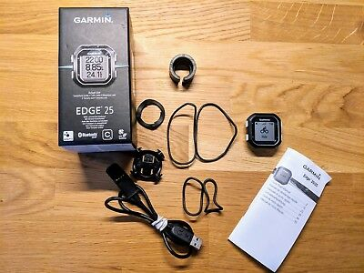 Garmin Edge 25 GPS Cycling Bike Computer - Boxed, in great condition
