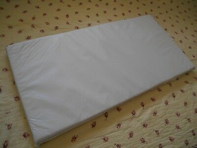 "INFANT Baby CRADLE MATTRESS 18"" X 36""X 1 1/2"" DREAM ON ME Nursery+ QUILTED COVER"