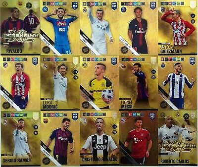 PANINI ADRENALYN XL - FIFA 365 2019 LIMITED EDITION and RARE CARDS