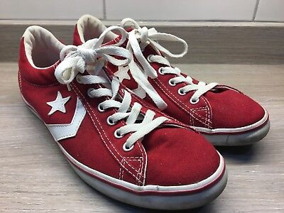 Mens Converse Cons Red Trainers Size 9