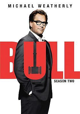 BULL:Season Two 2 The Complete Second(DVD,2018,6-Disc Set)New Michael Weatherly