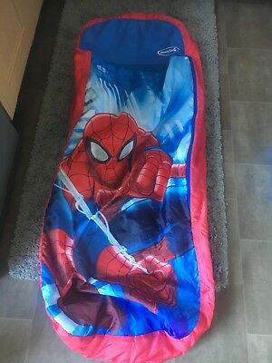 Spider-Man Marvel Air bed Readybed Sleeping Bag Camping