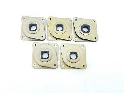 5 Metal Rubber Dampers Mounts for Nema 17 Stepper Motor 3D Printer RepRap Prusa