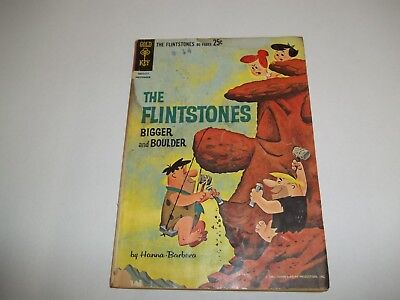 Gold Key - Flintstones Bigger and Boulder #1 1962 - Low Grade - See the Pictures