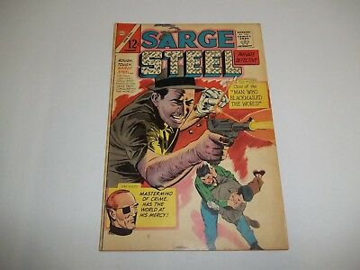 Charlton Comics - Sarge Steel #2 1965 See the Pictures!
