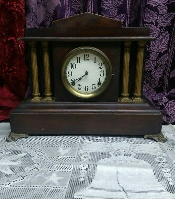 Antique Ansonia Mantel Clock Made In Usa