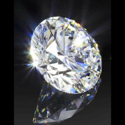 0.53 cts. CERTIFIED Round Brilliant Cut SI3 D Color Loose Natural Diamond 9164