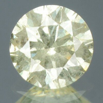 0.33 cts CERTIFIED Round Brilliant Cut White-K Color Loose Natural Diamond 11078