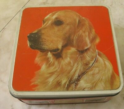 Vintage Biscuits Tin By Griffin & Sons Ltd- New Zealand 4Lbs. Tin Is Empty