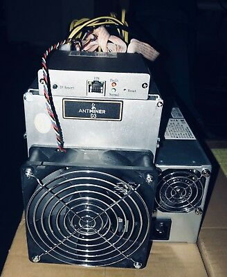 Bitmain D3 Antminer X11 19.3GH/S  BRAND NEW - SEALED BOX - READY TO SHIP