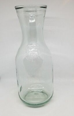 Paul Masson since 1852 clear glass carafe/bottle