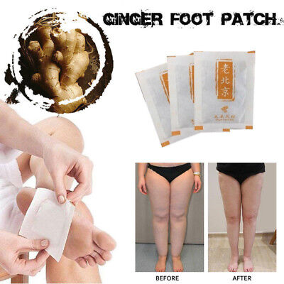 ANTI-INFLAMMATION SWELLING GINGER FOOT PATCH 10/50 Pieces F2