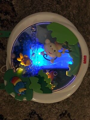 Fisher-Price Rainforest Waterfall Peek A Boo Soother Crib Toy K3800