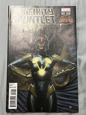 Infinity Gauntlet #1 Granov Variant Cover 1:25 1st print