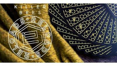 Bicycle Ellusionist Killer Bee Reloads Deck US Playing Cards Magic Poker