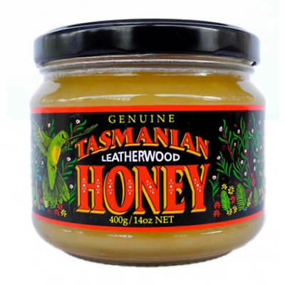 Tasmanian Honey Company Leatherwood Honey Jar 400g
