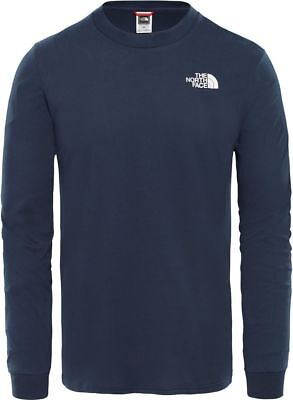 THE NORTH FACE Simple Dome T93L3BH2G Cotton Pullover Long-Sleeve Shirt Mens New