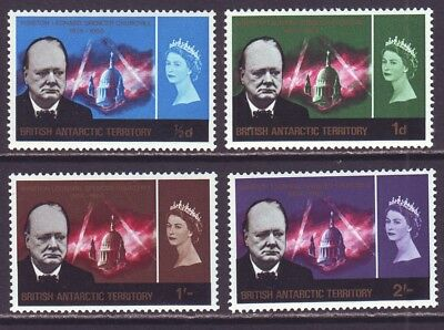British Antarctic Territory B A T 1966 SC 16-19 MNH Set Churchill