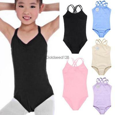 Arshiner Children Kids Girl's Double Strap Slim Solid Camisole Jumpsuit GS8D 01