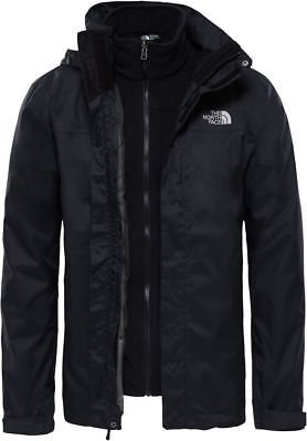 THE NORTH FACE Evolve II Triclimate T0CG55JK3 3en1 Imperméable Veste pour Homme