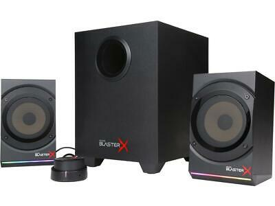 Sound BlasterX Kratos S5 2.1 Gaming Speaker System with Customizable RGB Lightin