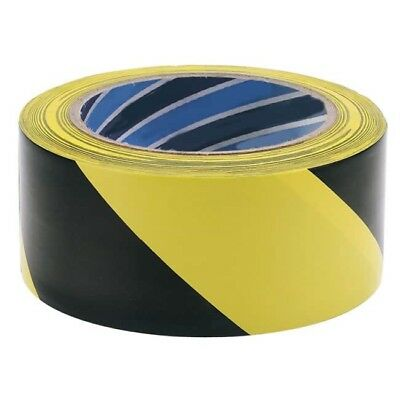 Hazard Warning Tape 33 Metres Warning Adhesive Tape safety Security - New