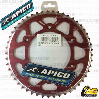 Apico Evolite Red Rear Sprocket 49T 520 For Beta 300RR 2T 2018