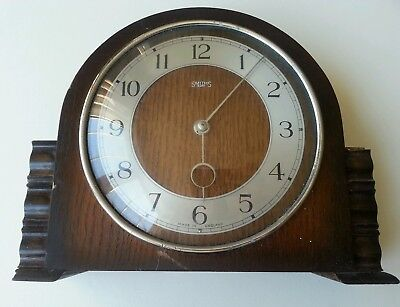 Wooden Smiths 8 Day Mantel Clock - Spares Repair