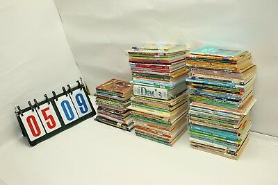 Lot of 112 Childrens Kids Chapter Books Paper Back Age 4 - 10 Assorted Picture