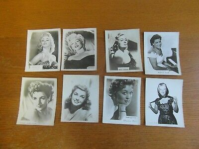 Film  Stars And Singers Cards
