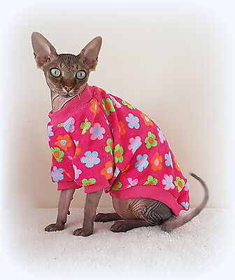 BLOOMING Sphynx cat clothes, sweater for a cat, pet clothes, HOTSPHYNX, Sfinksss