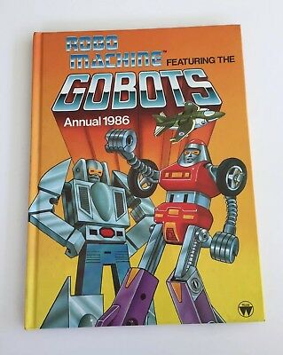 Robo Machine Featuring The Gobots Annual 1986 - Unclipped