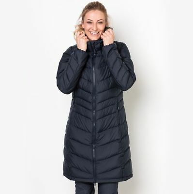 Jack Wolfskin Womens Selenium Down Coat - Warm - Insulated - Midnight Bl