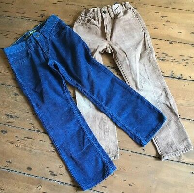 2 x Gap Boys Trousers Size 6 Years Corduroys/Jeans Adjustable Waist