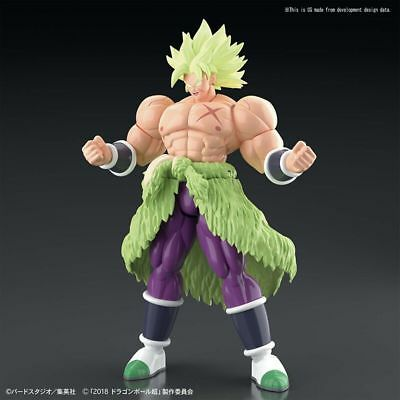 Dragon Ball Super Broly Ss Full Power Figure Rise Bandai New