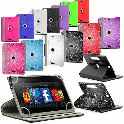 New 360 Rotating Leather Tablet Case Cover pouch for Acer Iconia One 10 B3-A40