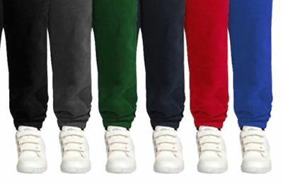 little Boys Girls School PE Fleece winter  Jogging Bottoms Trousers, year 3-4