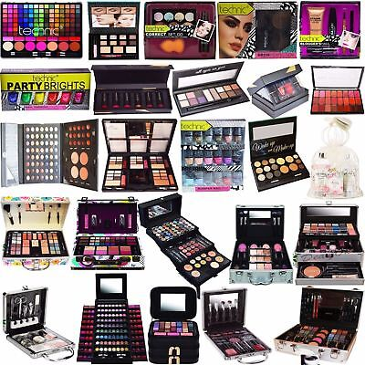 Technic Make Up Christmas Gift Set Box Palette Beauty Cosmetics Eyes,Brows,Face