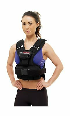 Sting Xplode Weighted Bodice, Black, 10 kg 11 Pockets