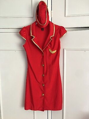 Ann Summers Come Fly With Me Pilot Outfit Size 24-26 *Plus Size*