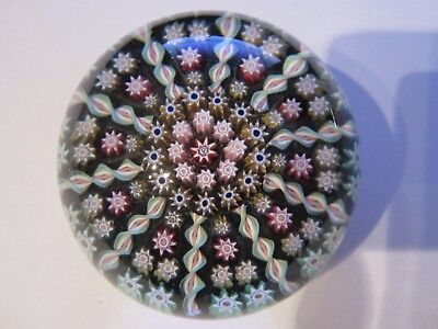 Perthshire Paperweight  Millefiori Lovely condition