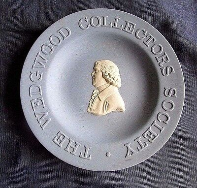 """Vintage """" The Wedgwood Collector's Society """" Collectible Plate Made England"""