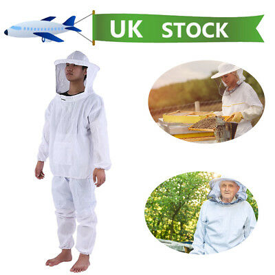 Beekeepers Bee Suit with Fencing Veil Premium Quality Protective UK