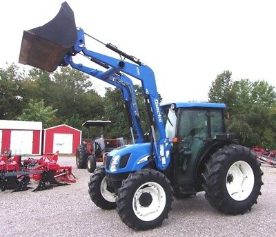 New Holland TN 70 DA with loader 4x4--------Delivery @ $1.85 per loaded mile.