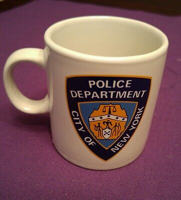 City Of New York Police Department Small Espresso Cup Collectible