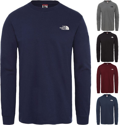 THE NORTH FACE TNF Simple Dome Cotton Pullover Long-Sleeve Shirt Mens All Size