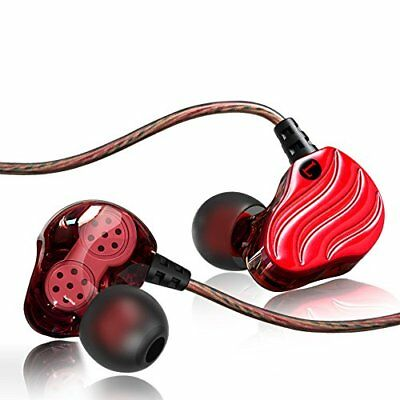 SXGINBT Noise Isolation Workout Music Earbuds,Running Sport (Charm Red)