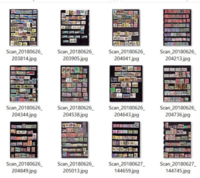 British Colonies & Commonwealth , Old, Large Collection Of Stamps (474) #20